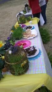 Easter Egg Table