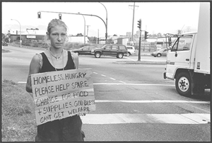Homeless Woman