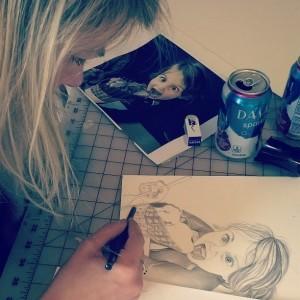 Nicole Drawing