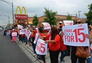 Strike for 15